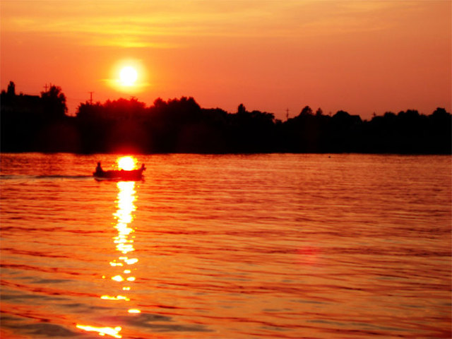 25-2. the Sun set